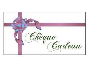 Chèque cadeau - 80€