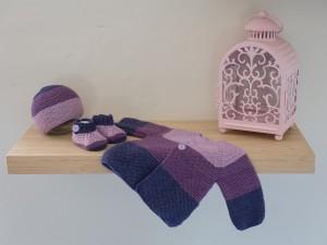 Ensemble en tricot pour bébé prématuré-Pimprenelle