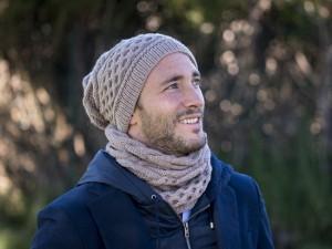 Bonnet et snood-Free Style pour homme