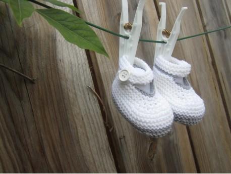 Chaussons pour bébé fille-Délicatesse