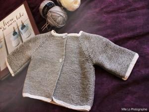 """Brassière pour bébé 3-6 mois """"Classique Chic"""""""