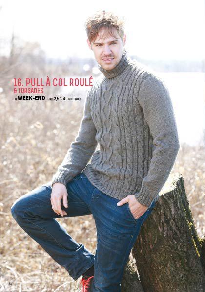 Pulls à tricoter pour homme