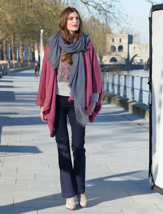 Veste Loose Modèle de veste à tricoter en mélodie de Plassard