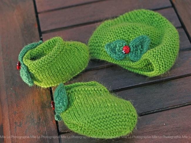 cours de tricot future maman, apprendre à réaliser un coffret de naissance