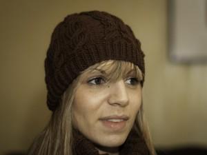 Bonnet femme Irlande tricoté au point irlandais