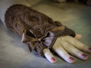mitaines-femmes- Irlande-tricoté-au-point-irlandais