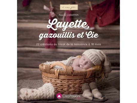 Livre layette 22 créations au tricot de la naissance à 18 mois