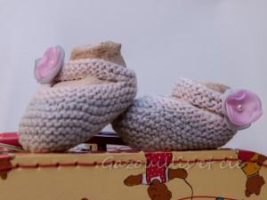 Collection chaussons -layette-été-2013 Porcelaine