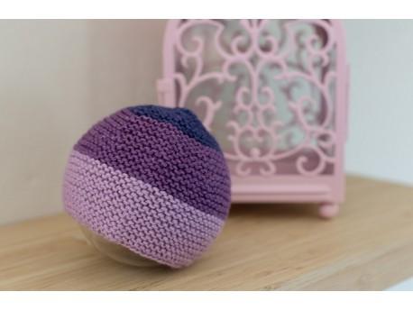 Bonnet en tricot pour bébé -Pimprenelle-